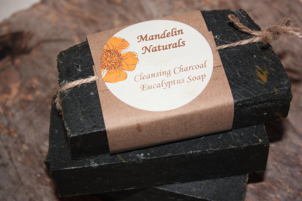 Cleansing Charcoal Eucalyptus Soap