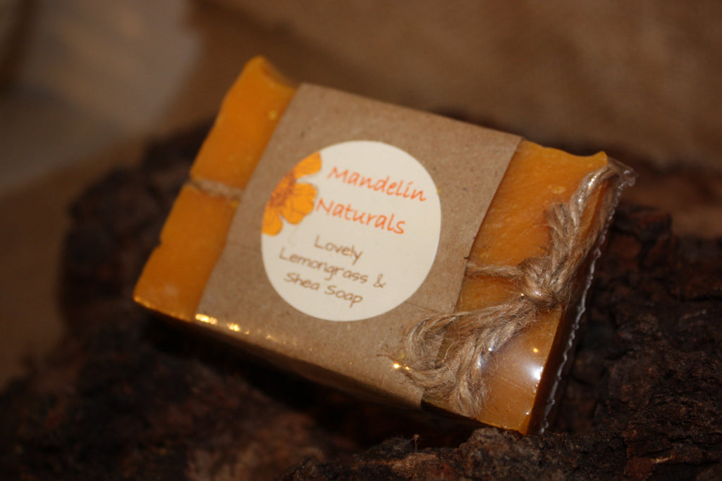 Lovely Lemongrass Shea Soap