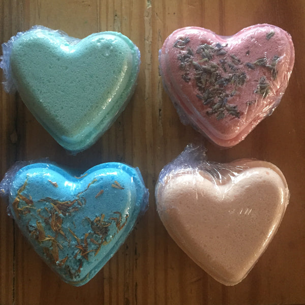 CBD Mini Bath Bomb Hearts