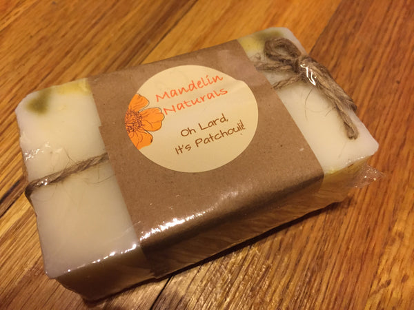 Oh Lard, It's Patchouli! Soap