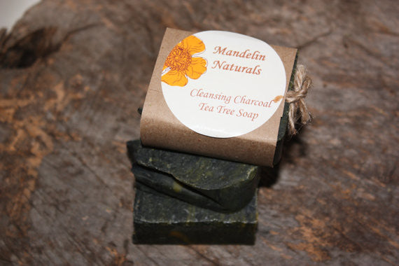 Cleansing Charcoal Tea Tree Soap