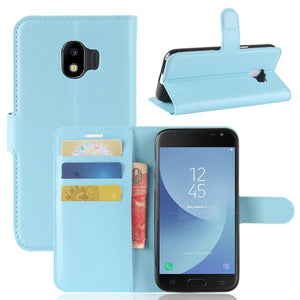 Leather Flip Case Wallet Gel Cover Stand For Samsung Galaxy J7 Pro / J7 2017