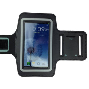 BLACK Sports Gym Armband Arm Band Running Case for Samsung Galaxy S5 S4 S3 S2