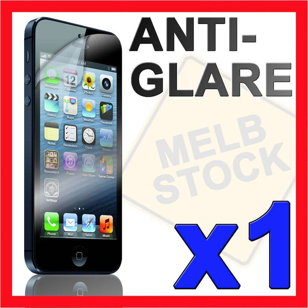 1 x Anti Glare Matte LCD Screen Protector Skin Cover Case for Apple iPhone 5 5S
