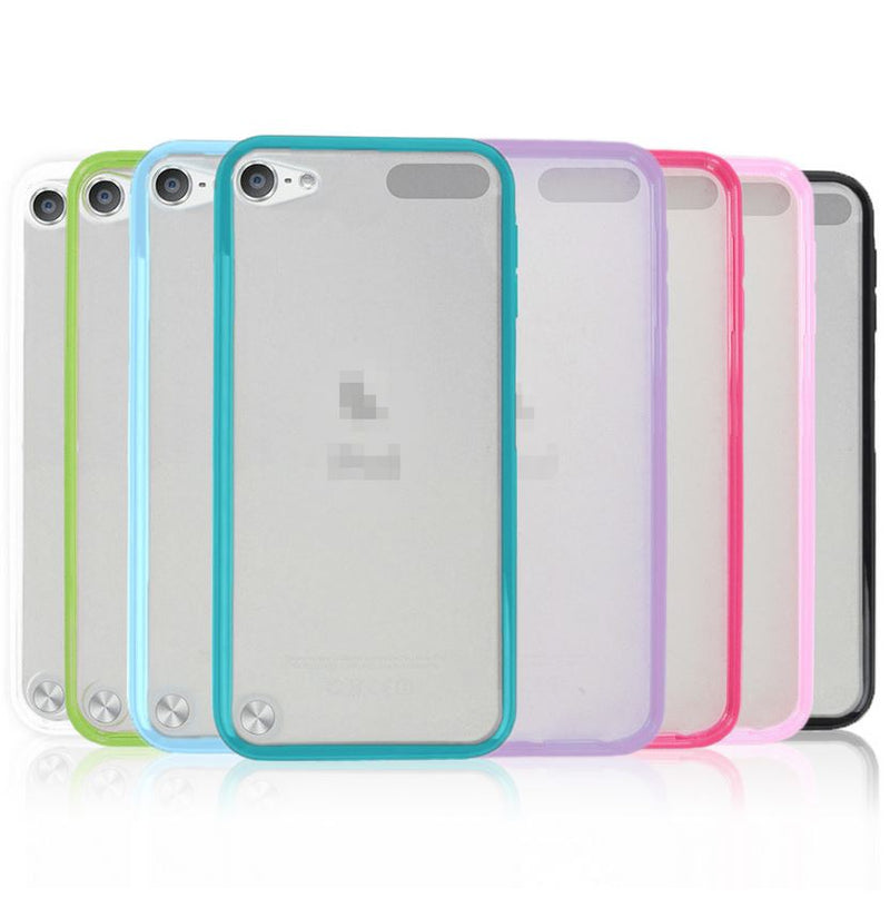 Gel Matte Silicone TPU Cover Case for Apple iPod Touch 5 5th 6 6th Generation
