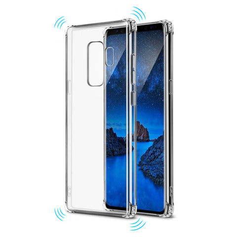 Shockproof Tough Gel Clear Case Cover for Samsung Galaxy S8