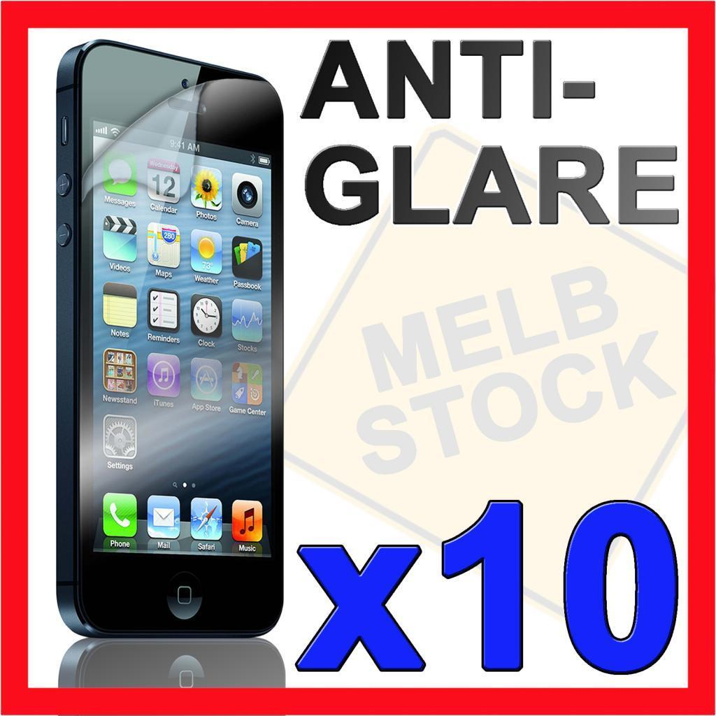10 x Anti Glare Matte LCD Screen Protector Film Guard Skin for Apple iPhone 5S 5
