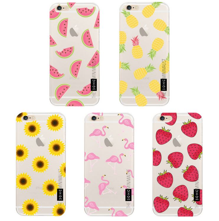 Flower Pattern Marble Gel TPU Silicone Case Cover for Apple iPhone 5 5S SE 6 6S