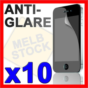 10 x Anti Glare Matte Screen Protector LCD Film Guard for Apple iPhone 4G 4S 4