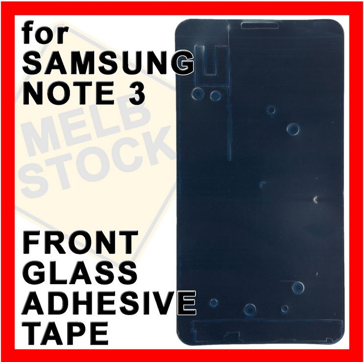 Front Glass Adhesive Tape Double Sided Glue Sticker for Samsung Galaxy Note 3