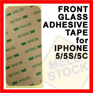 Front Glass Adhesive Tape Double Sided Glue Sticker for Apple iPhone 5S 5C 5
