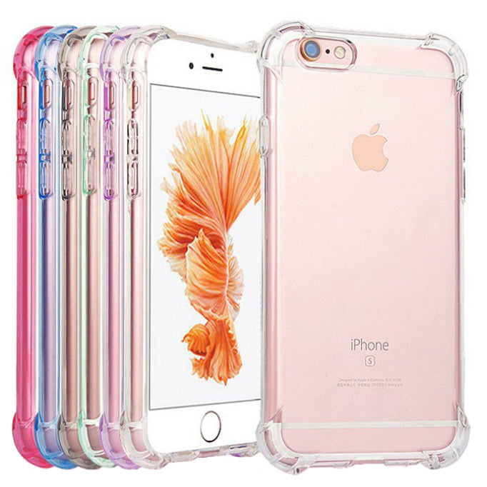 Shockproof Tough Gel Clear Case Cover for Apple iPhone 7 Plus