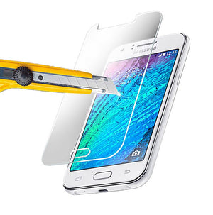 GENUINE Tempered Glass Screen Protector Scratch Resistant for Samsung Galaxy J1
