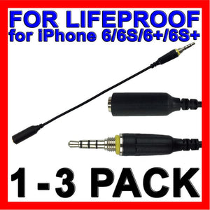 Headphone Waterproof AUX Cable for LifeProof Case for Apple iPhone 6s 6 6 Plus