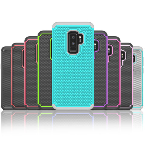 Shockproof Heavy Duty Tough Hard Case Cover For Samsung Galaxy S9 Plus