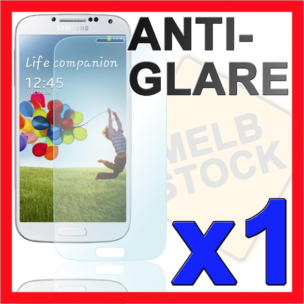 1x Anti Glare Matte Screen Protector Skin for Samsung Galaxy S4 SIV i9500 i9505