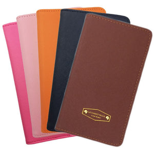 Passport Cover Travel Case Wallet Holder Ticket Organiser Protector PU Leather