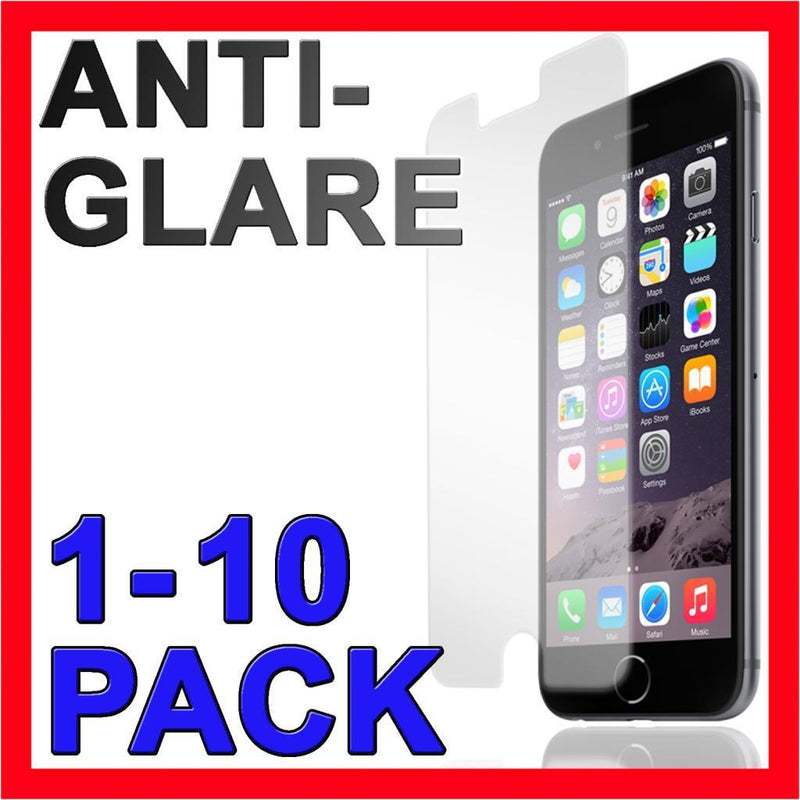 Anti Glare Screen Protector Film Guard Case for Apple iPhone 5 SE 6s 7 8 Plus X