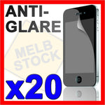 20 x Matte Anti Glare LCD Screen Cover Protector Film for Apple iPhone 4S 4G 4