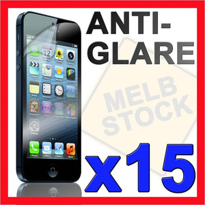 15 x Anti Glare Matte LCD Screen Protector Film Guard for Apple iPhone 5S 5C 5 S