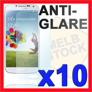 10x Anti Glare Matte Screen Protector Film for Samsung Galaxy S4 i9500 i9505 SIV