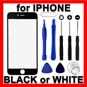 LCD Replacement Front Glass Panel Screen Cover Tools for Apple iPhone 6 6 Plus 7