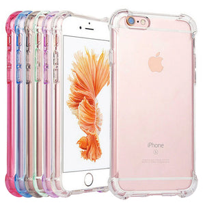 Shockproof Tough Gel Clear Case Cover for Apple iPhone 5