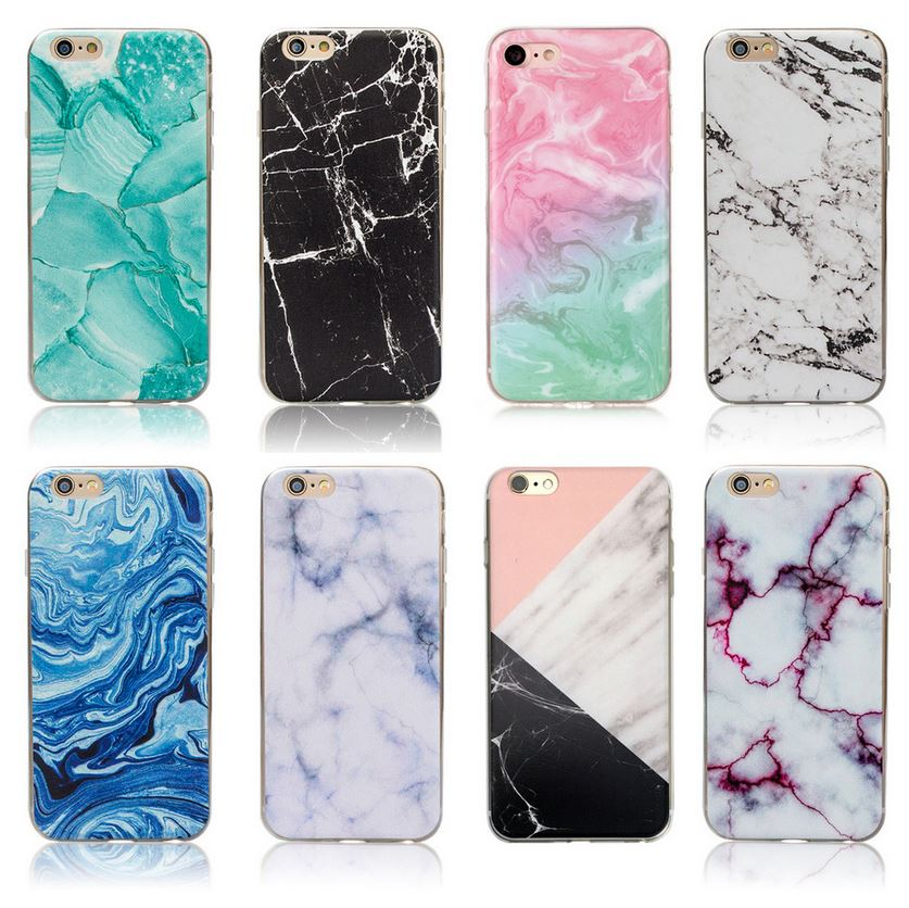 Copy of Marble Rock Wooden Pattern Gel Case Cover for Apple iPhone 5 5S SE 6 6S Plus 7 8