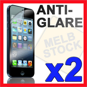 2 x Anti Glare Matte Screen Protector LCD Film Guard for Apple iPhone 5 5S IP5
