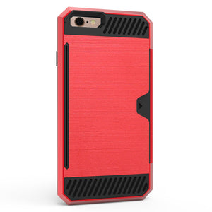 Shockproof Heavy Duty Tough Card Case for Apple iPhone SE