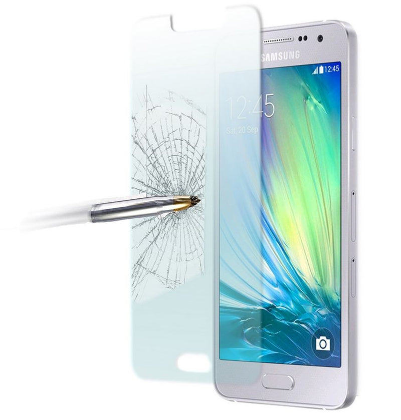 GENUINE Tempered Glass Screen Protector Tough Film for Samsung Galaxy A3 A5 2017