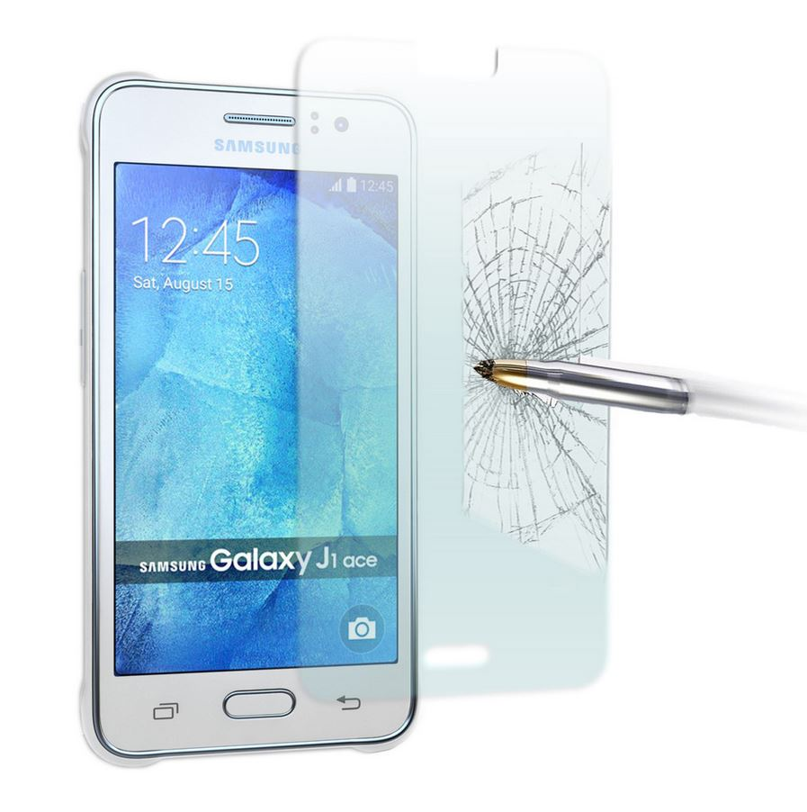 GENUINE Tempered Glass Screen Protector Film for Samsung Galaxy J1 & J1 ACE