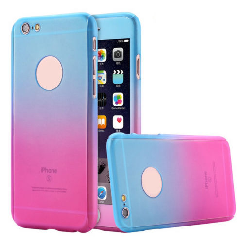360 Shockproof Heavy Duty Case Tough Armor Cover for Apple iPhone 6 6s 7 Plus