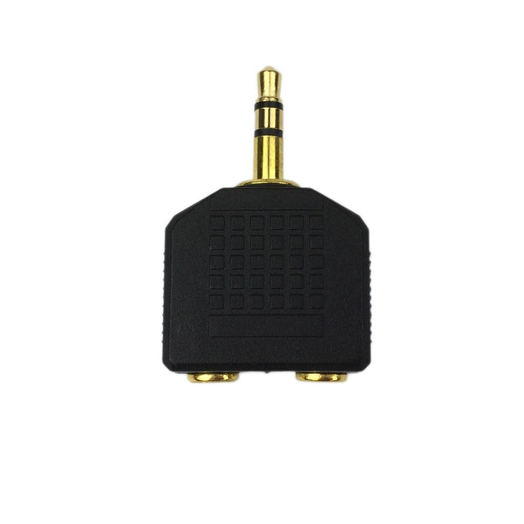 3.5mm Headphone Splitter Audio MP3 Cable Y Adapter Jack Plug Earphone Auxiliary