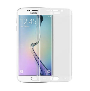 FULL COVERAGE Tempered Glass Screen Protector for Samsung Galaxy S7 S6 Edge S8