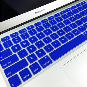 "Silicone Keyboard Cover for Apple MacBook 13"" 15"" Air Pro"
