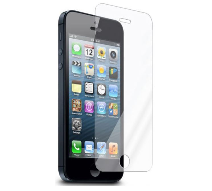 GENUINE Tempered Glass Screen Protector Film Guard for Apple iPhone 5S 5C 5 SE