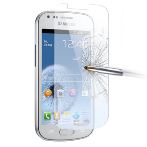 2 x GENUINE Tempered Glass Screen Protector Film for Samsung Galaxy Trend Plus