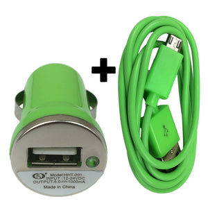 Fast Micro USB Car Charger for Samsung Galaxy S4 S3 S2 Note 2 Mini HTC Adapter