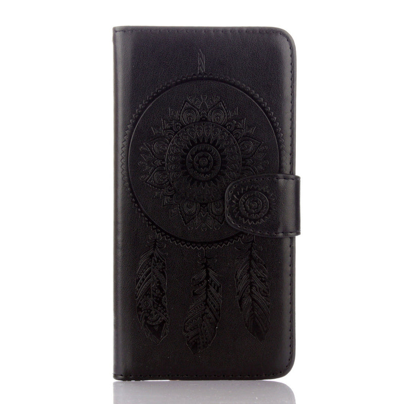 Dreamcatcher Leather Flip Wallet and Stand Case For Samsung Galaxy S5