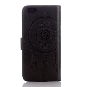 Dreamcatcher Leather Flip Wallet and Stand Case For Apple iPhone 6 / 6S
