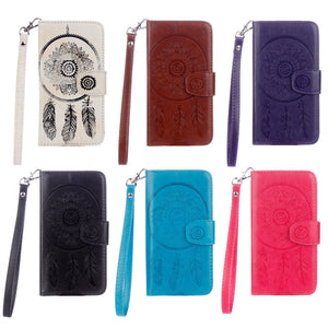 Dreamcatcher Leather Flip Wallet and Stand Case For Apple iPhone 7 Plus