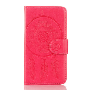 Dreamcatcher Leather Flip Wallet and Stand Case For Samsung Galaxy S6 Edge