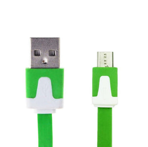 NOODLE Micro USB Data Charger Cable for Samsung Galaxy S6 S4 S3 Note 2 3 HTC One