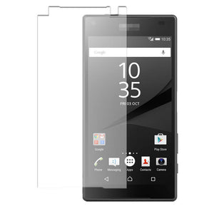 2 x GENUINE Tempered Glass Screen Protector Film for Sony Xperia Z5 COMPACT