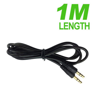 Long AUX Cable 3.5mm Stereo Audio Input Extension Male to Male Auxiliary Cord
