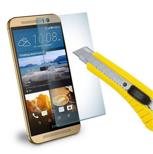 GENUINE Tempered Glass Screen Protector Scratch Resistant Film for HTC One M9