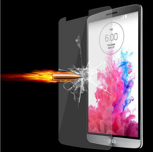 2 x GENUINE Tempered Glass Screen Protector Scratch Resistant Film for LG G3 G4