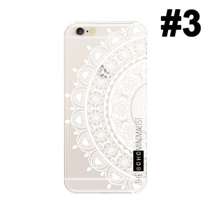 Marble Dream Catcher Pattern Gel Case Cover for Apple iPhone 5 5S SE 6 6S Plus 7