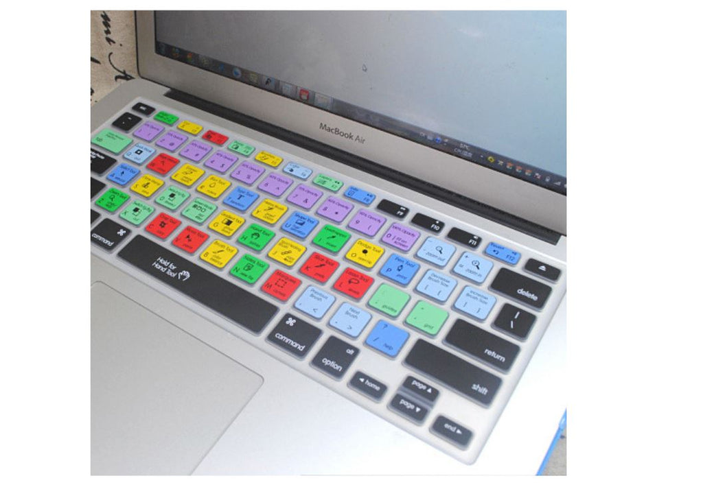 "Photoshop Keyboard Cover for Apple MacBook 13"" 15"" Air Pro"